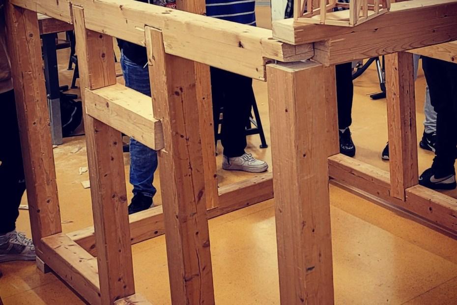 Wir bauen ein Fachwerkhaus. 14