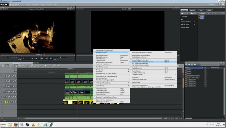 Screenshot MAGIX Video Pro X5 13-06-08_13-21-01