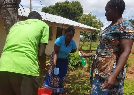 Tiyeni farmers during Covid-19 outbreak