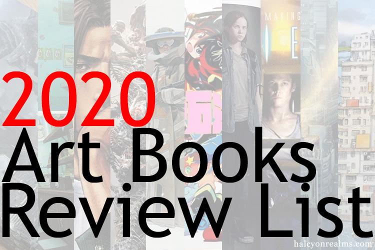 Halcyon Realms 2020 Art Books Review List ( 73 Total )