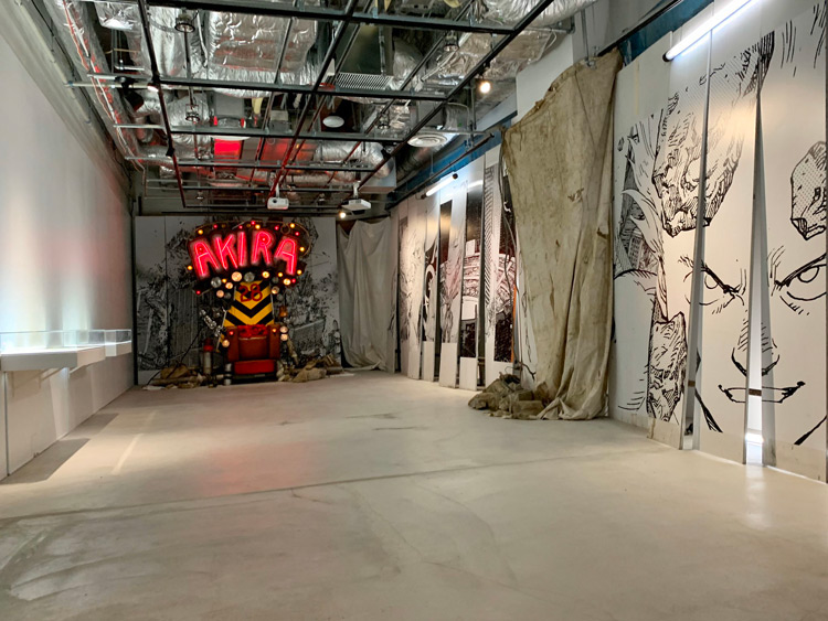 Akira Art Of Wall Exhibition Preview