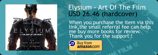 Elysium - The Art Of The Film Book Amazon Buy Link
