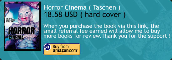 Horror Cinema Book Review ( Taschen ) Amazon Buy Link