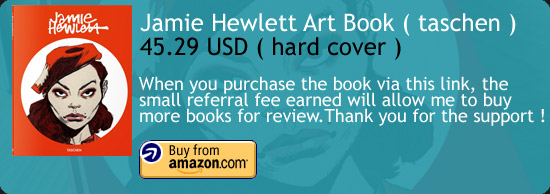 Jamie Hewlett Art Book  Amazon Buy Link