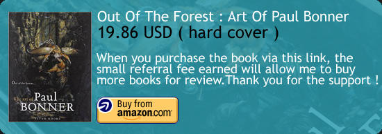Out Of The Forest : The Art Of Paul Bonner Art Book Amazon Buy Link
