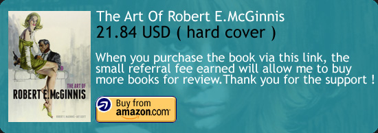 The Art Of Robert E.McGinnis Book Amazon Buy Link