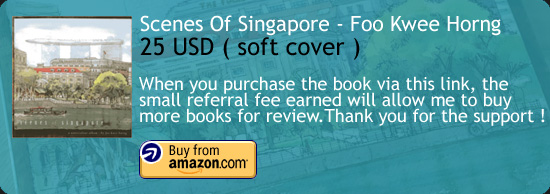 Scenes Of Singapore - Foo Kwee Horng Art Book Amazon Buy Link