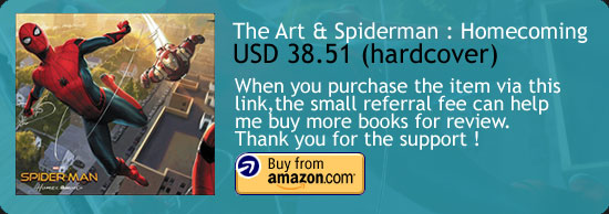 The Art Of Spiderman : Homecoming Art Book Amazon Buy Link