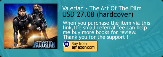 Valerian - The Art Of The Film Book Amazon Buy Link