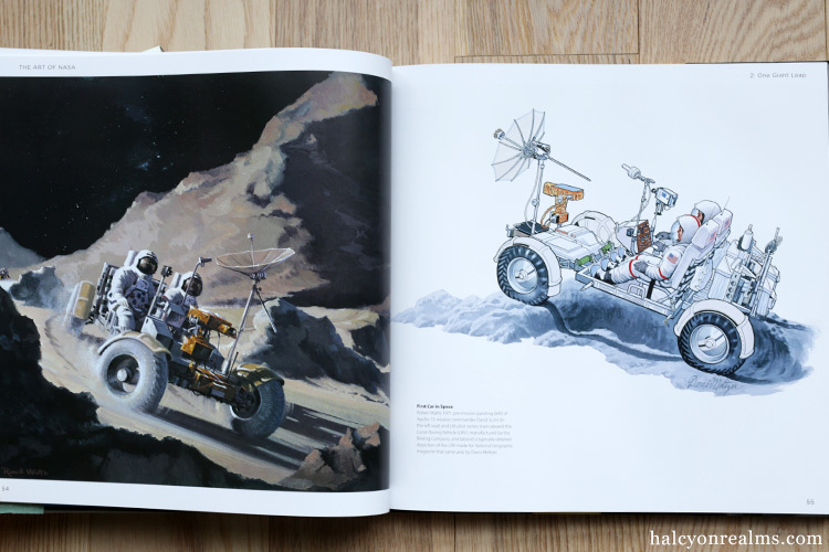 The Art Of NASA - The Illustrations That Sold The Missions Art Book Review