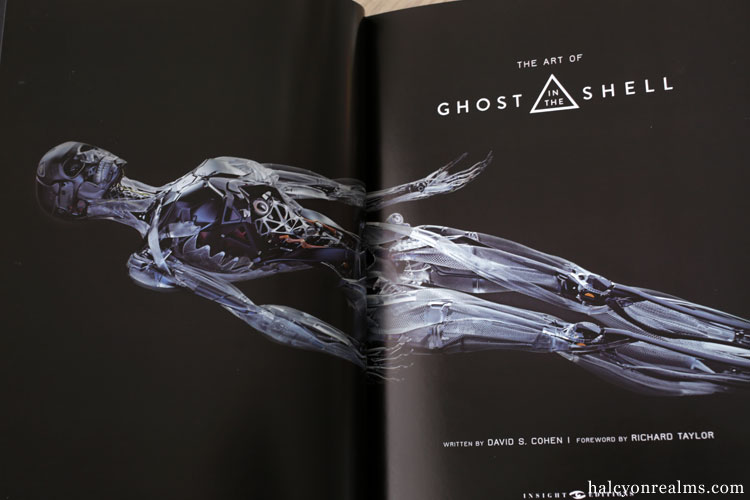 The Art Of Ghost In The Shell ( 2017 ) Book Review