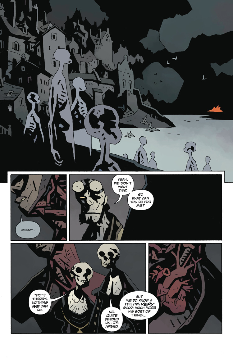 Hellboy in Hell : The Hounds Of Pluto