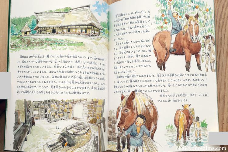 A Life With Horses - Daisuke Igarashi Illustration Book Review