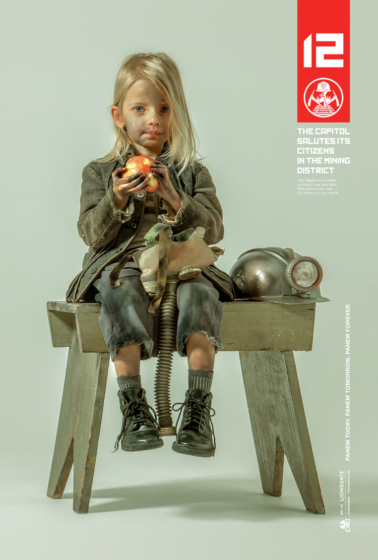 Hunger Games Posters Rockwell/Leyendecker