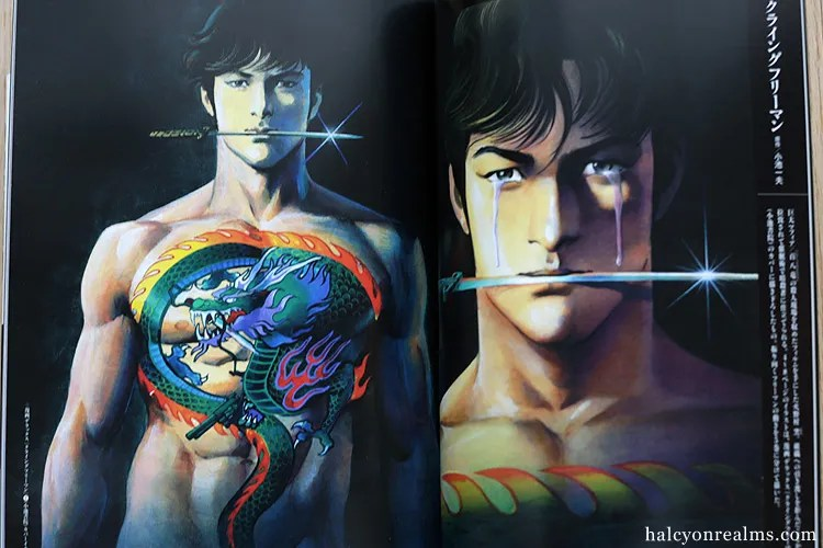 Ikegami Ryoichi Art Works Book Review