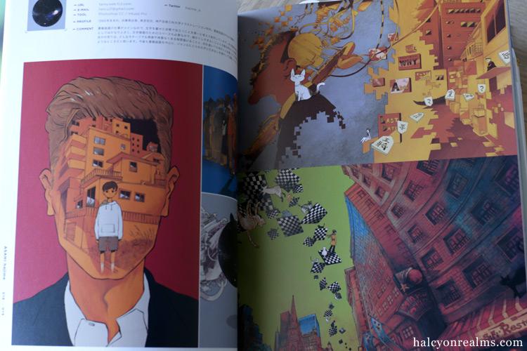 ILLUSTRATION 2018 Japanese Art Book Review