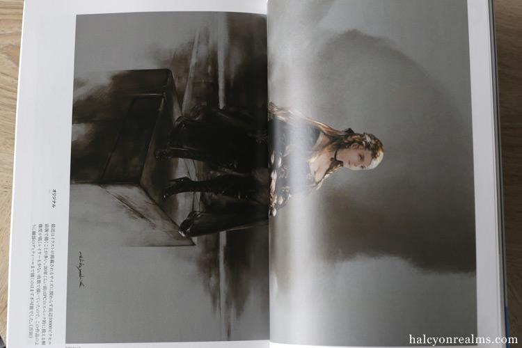 Akihiko Yoshida - Illustration Magazine Review