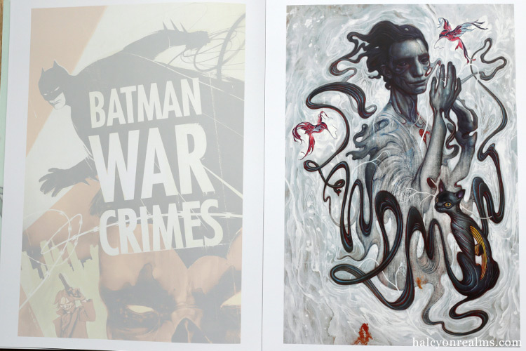 DC Poster Portfolio : James Jean Art Book Review