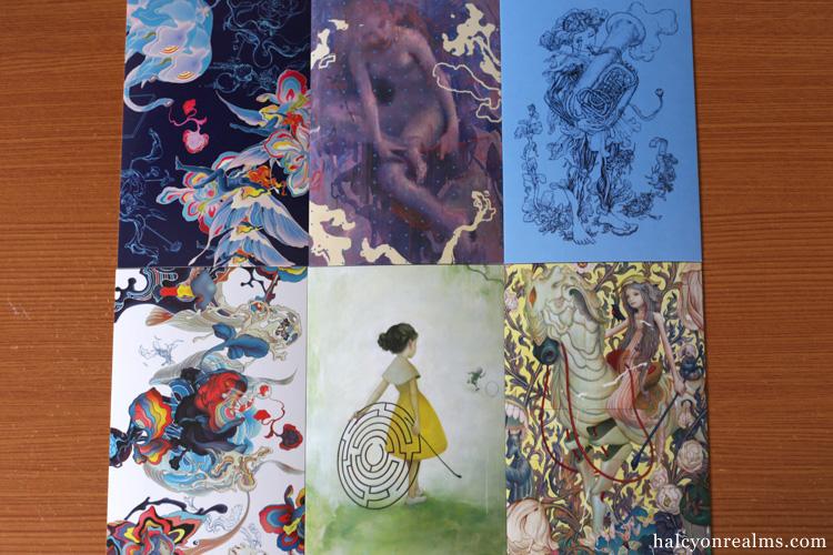James Jean MEMU : 100 Postcards