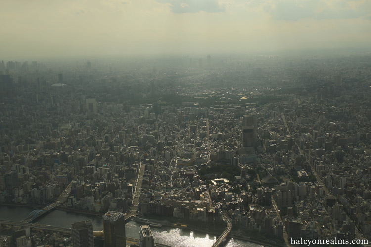 Visiting Tokyo Skytree