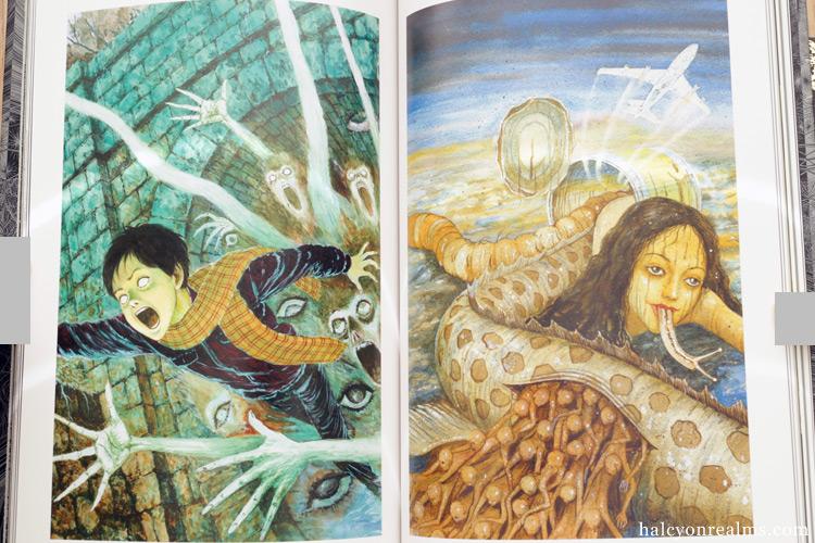 Grotesque World - Junji Ito Art Book Review