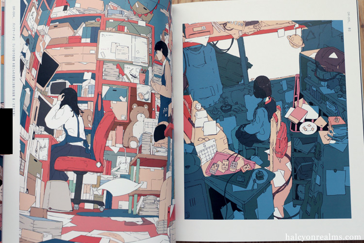 Kikanetsu - Daisuke Richard Art Book Review