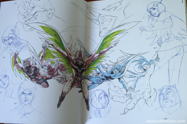 Gatchaman - Kuri Ippei Art Works Book