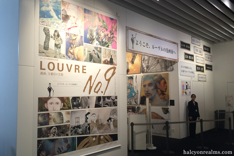 Visiting The Louvre No.9 Exhibition, Tokyo.