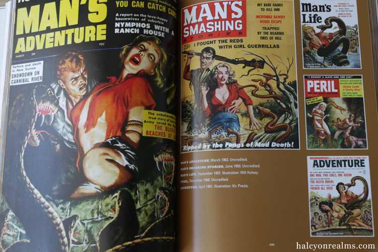It's A Man's World - Postwar Pulp Magazine Art Book Review