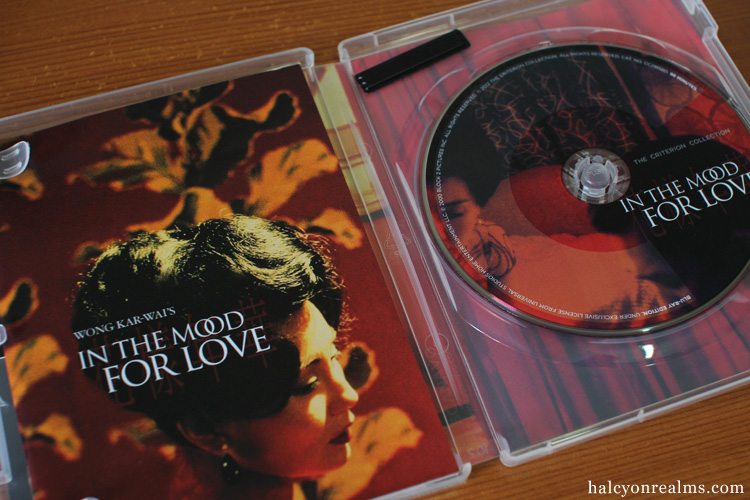 In The Mood For Love Criterion Blu-ray Wong Kar Wai