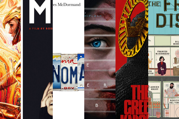 Notable Film Posters of 2020