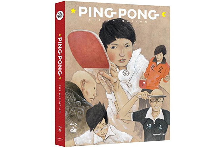 Ping Pong the Animation: Complete Series Blu-ray