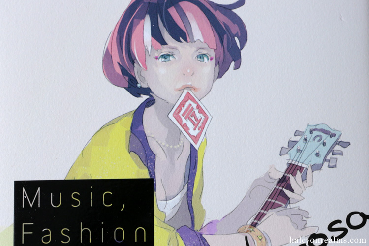 Music, Fashion And Girl - Pomodorosa Art Book