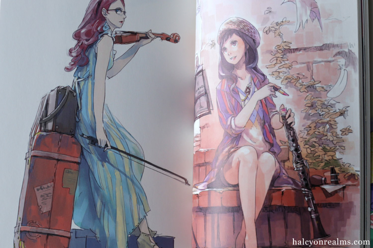 Music, Fashion And Girl - Pomodorosa Art Book