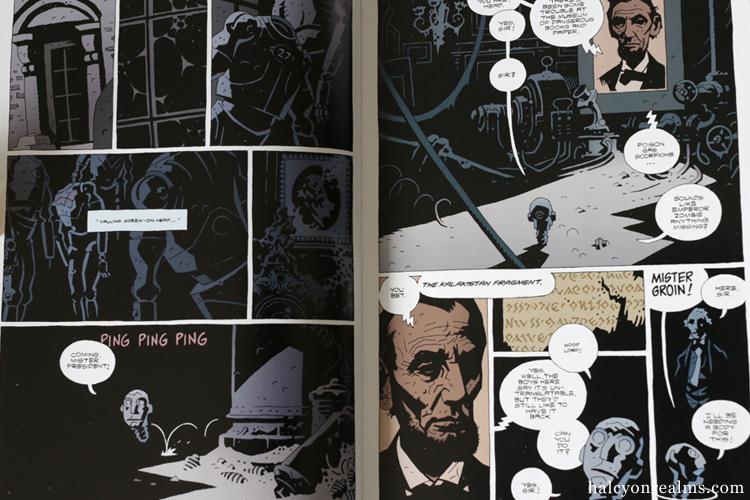 The Amazing Screw-On Head Comic Book Mignola