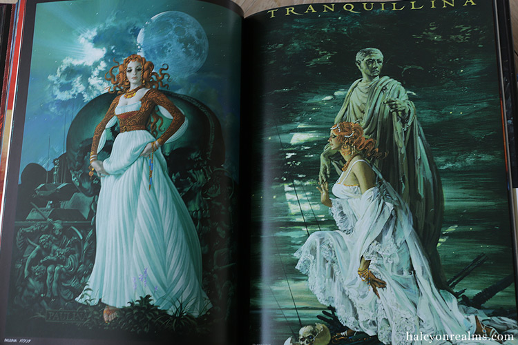 The Beauties In Myths - Ohrai Noriyoshi Art Book Review
