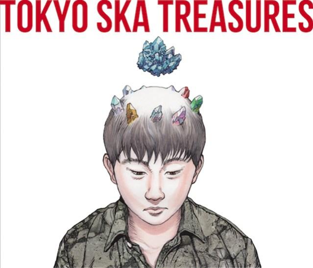 Otomo Katsuhiro Illustrates Album Covers for Skapara