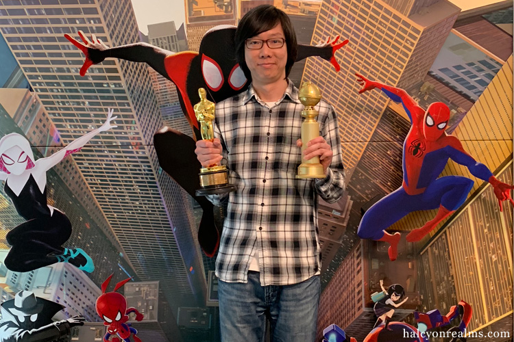 Spider-Man : Into The Spiderverse - Academy & Golden Globe Awards