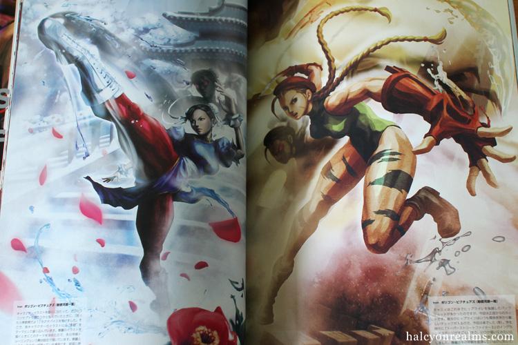 Street Fighter X Tekken Art Works Book