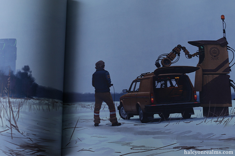 Tales From The Loop - Simon Stålenhag Art Book