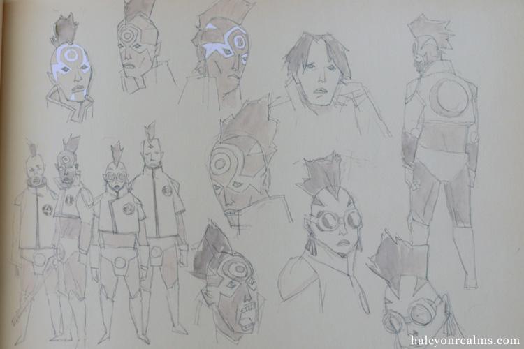 Tekkon Kinkreet Characters Art Book Review