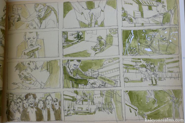 Tekkon Kinkreet Characters Art Book Review Halcyon
