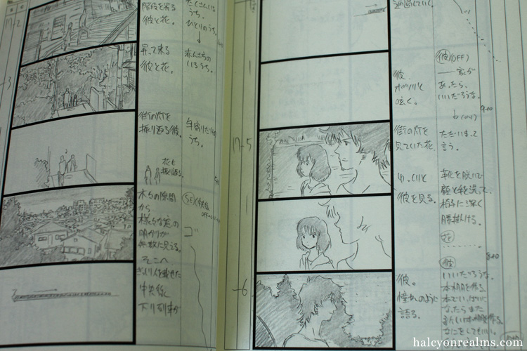 Wolf Children Storyboard Art Book