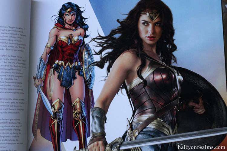 Wonder Woman - The Art And Making Of The Film Book Review
