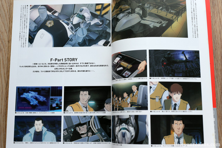 WXIII Patlabor The Movie 3 Art Book Review