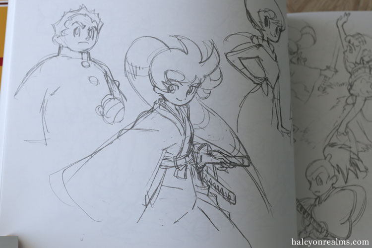 The Art Of Yoh Yoshinari – Rough Sketches ( Tezuka ) Art Book Review