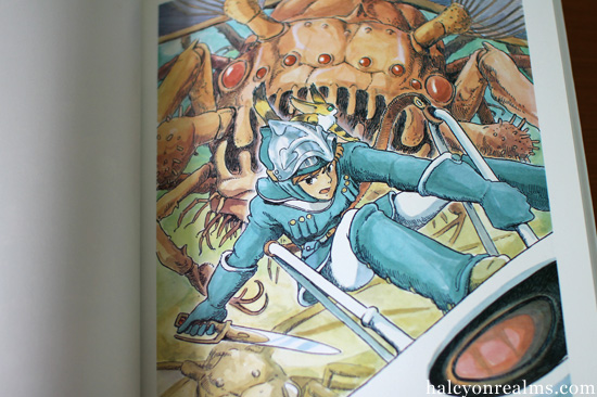 Nausicaa Watercolor Collection - Miyazaki Hayao Art Book