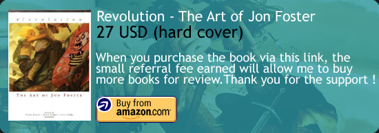 Revolution - The Art of Jon Foster Book Amazon Buy Link