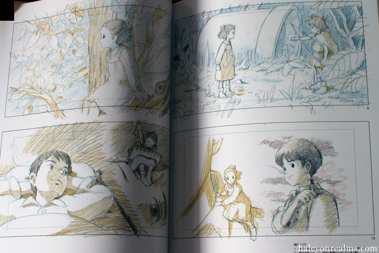 The Art Of Kari-gurashi (Arrietty) Ghibli Book
