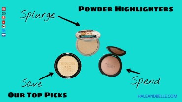 Save, Spend, Splurge: Powder Highlighters To Glow Like a Bomb!